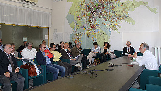 Berdini incontra i municipi