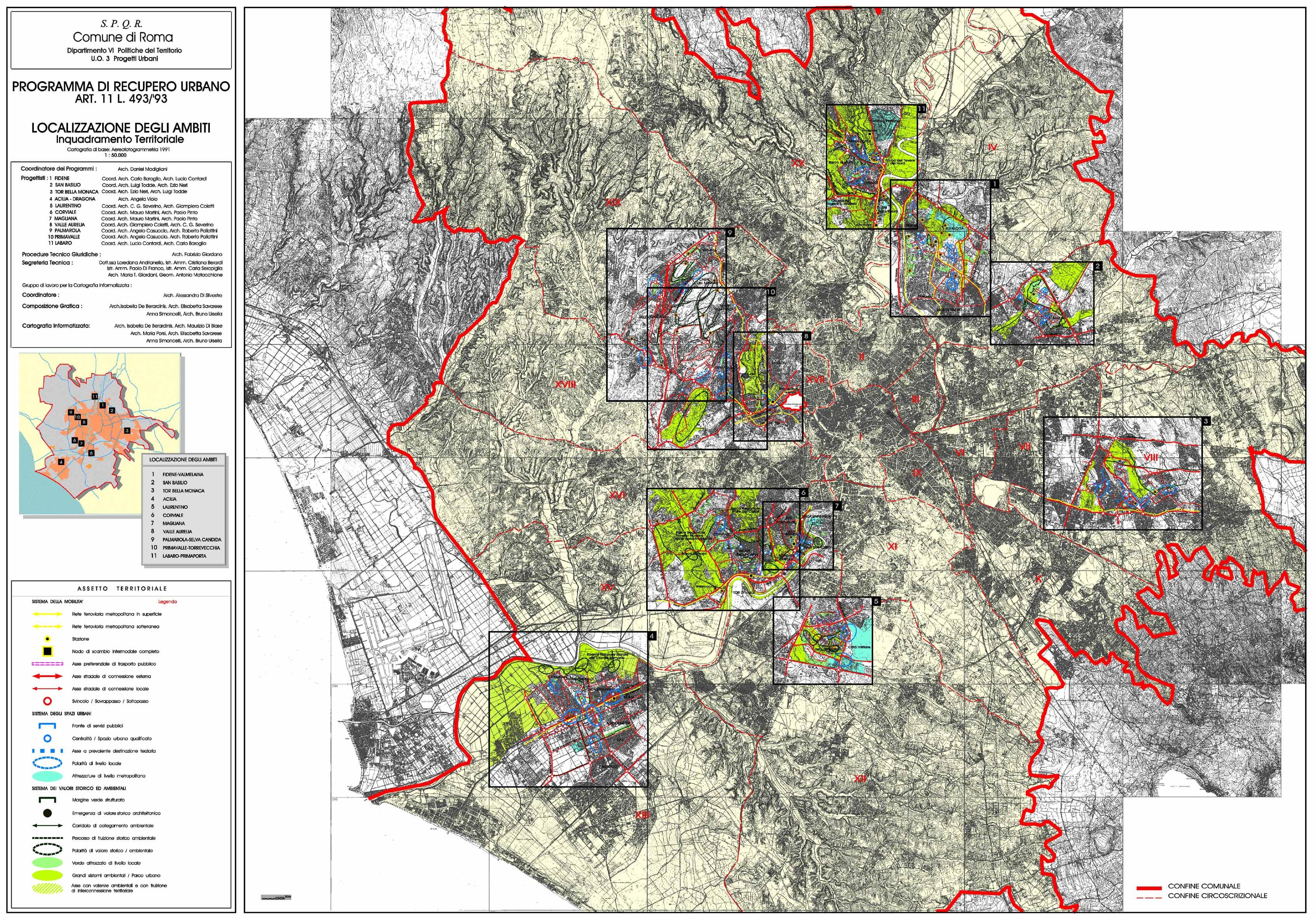 121 ufficio decoro urbano comune di roma le 50 citt pi for Ufficio decoro urbano roma